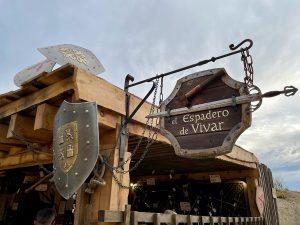 Cartel de El Espadero de Vivar en La Puebla Real de Puy du Fou España