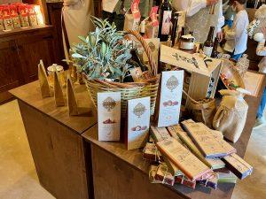 Chocolates en la tienda El Sibarita de Puy du Fou España