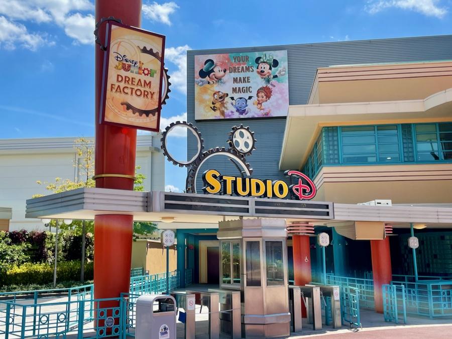 Entrada al espectáculo Disney Junior Dream Factory de Walt Disney Studios en Disneyland Paris