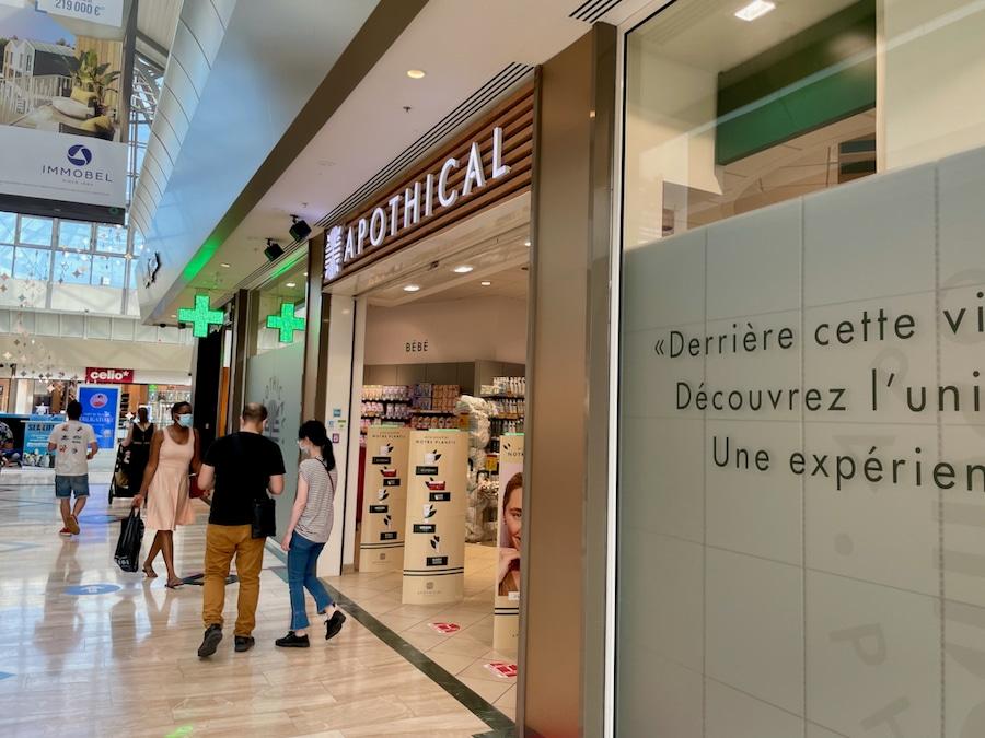 Farmacia Val dEurope para test covid viajar a Disneyland Paris