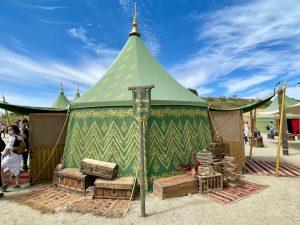 La Alcándara del Cetrero tienda del Askar Andalusí en Puy du Fou España