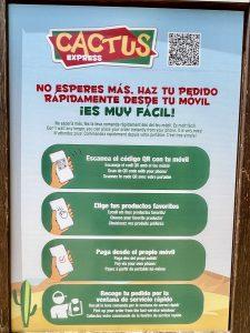 Cactus Express PortAventura - Pedir desde el móvil 2021