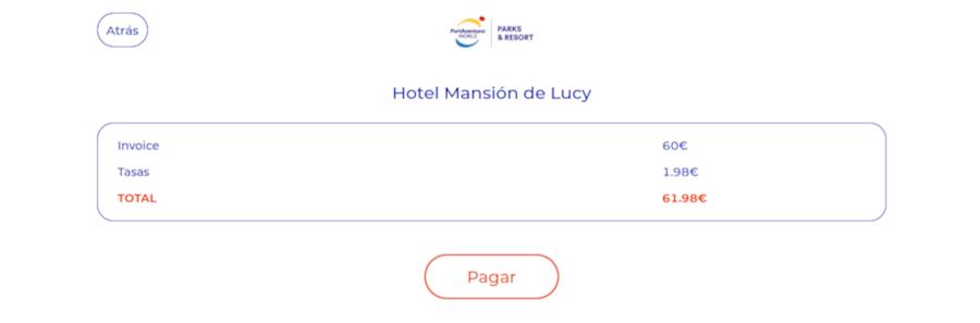 Checkin online en hoteles de PortAventura - paso 6