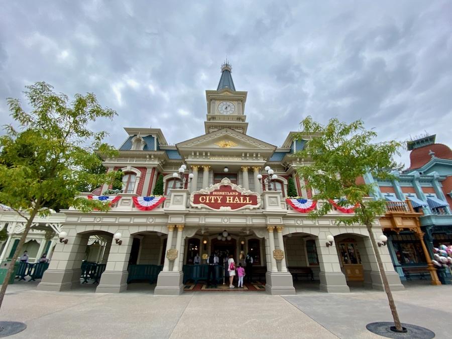 City Hall Atención al Visitante en Disneyland Paris