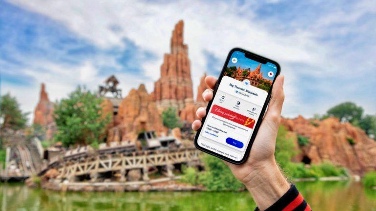 Disney Premier Access FastPass de pago en la app de Disneyland Paris