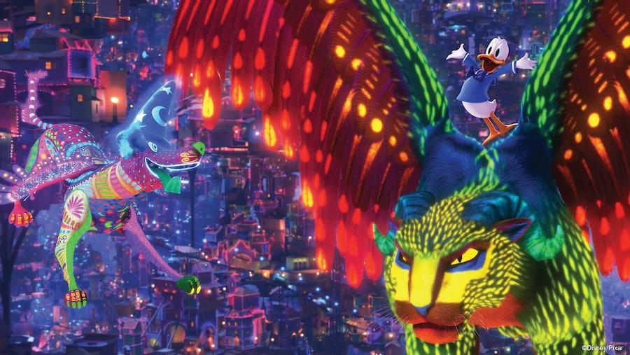 Nueva escena de Coco en la atracción PhilharMagic de Disneyland Paris
