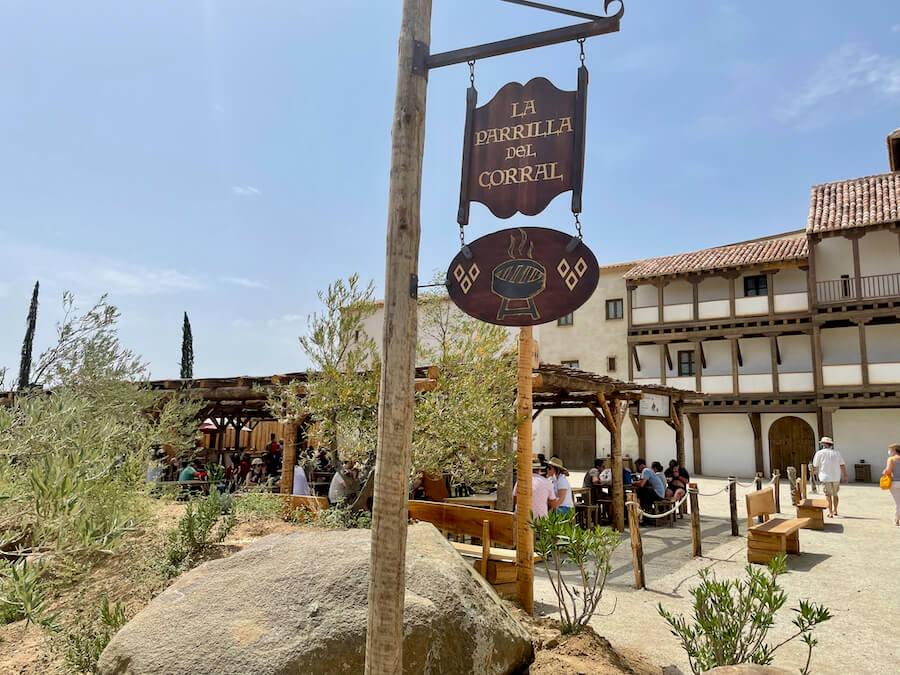 Restaurante La Parrila del Corral de Puy du Fou España